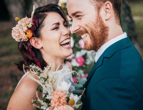 Una sinfonia di colori per un inspiration wedding all'insegna della fantasia